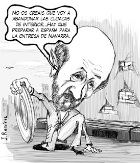 Afredo Pérez Rubalcaba humor caricature