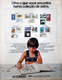 propaganda correios - 1976. década de 70. os anos 70; propaganda na década de 70; Brazil in the 70s, história anos 70; Oswaldo Hernandez;