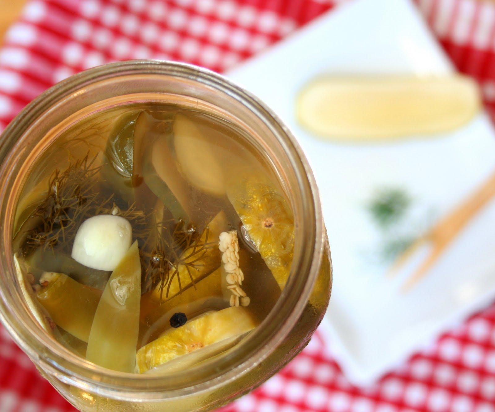Spicy Dill Refrigerator Pickles (Secret Recipe Club) | All Day I Dream ...