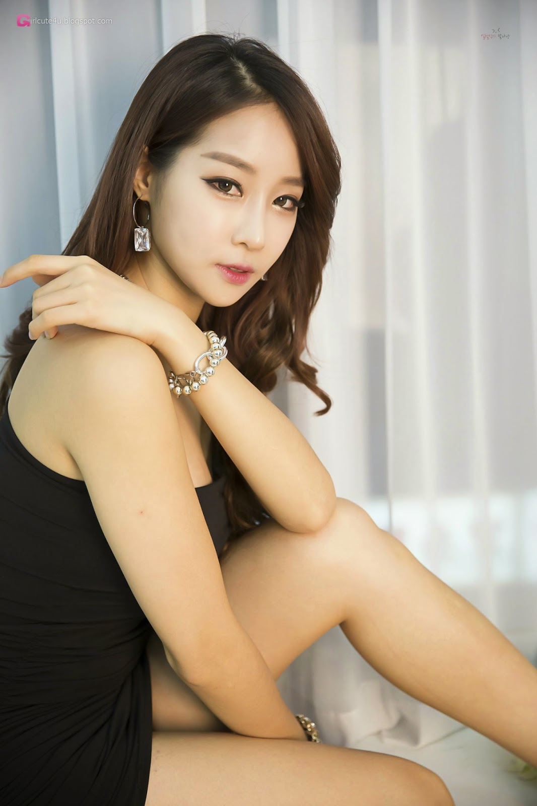 2 Lovely Eun Ji Ye In Studio Photo Shoot - very cute asian girl-girlcute4u.blogspot.com