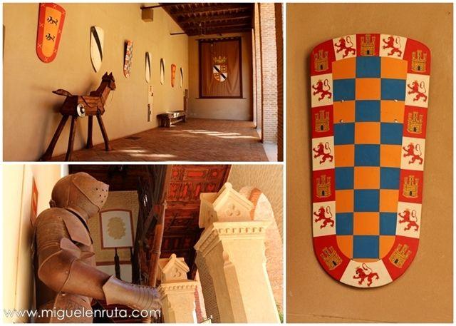 Escudos-armaduras-Castillo-Belmonte