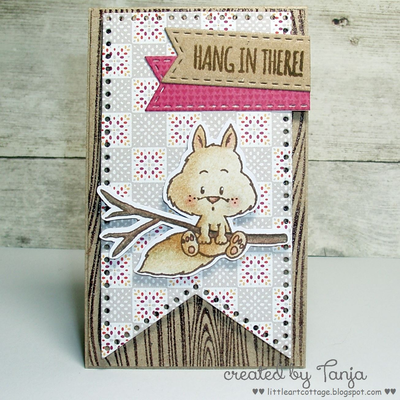 Color The Cute Squirrel From Gerda Steiner Designs Happy Fall Stamp Set With Lyra Rembrandt Polycolor Pencils And Zest It