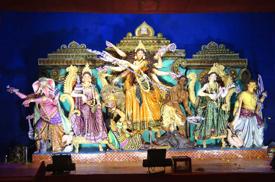 essay on durga puja in english