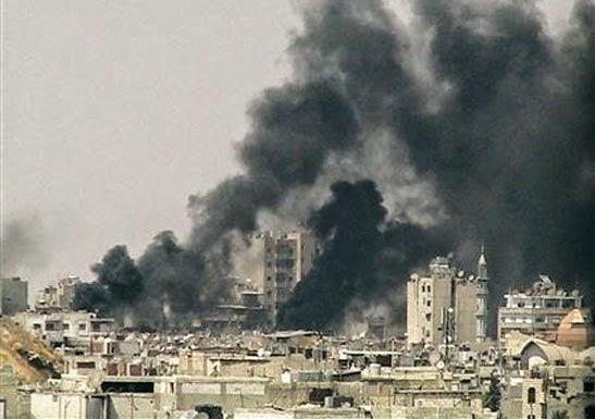سوريا عشرات القتلى والجرحى جراء قصف قوات النظام لمناطق