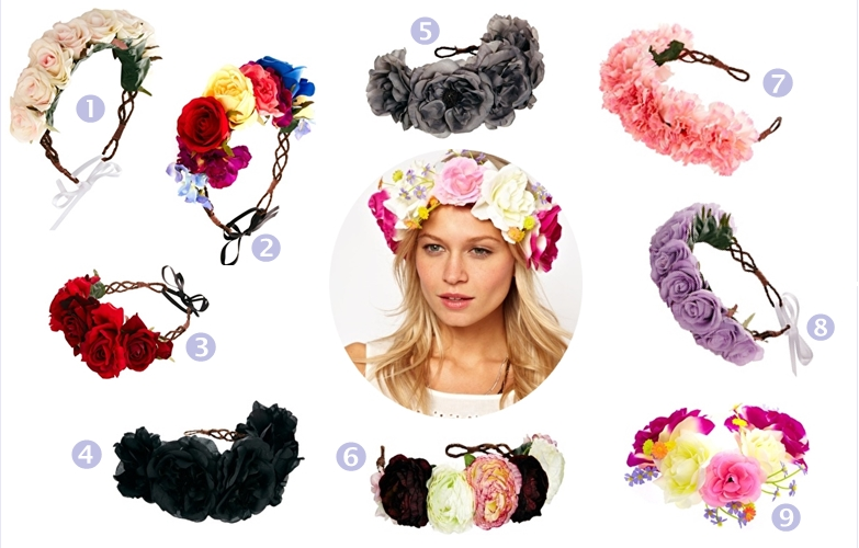 flower crown accesories