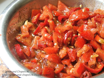 Fermented Tomato Pickle