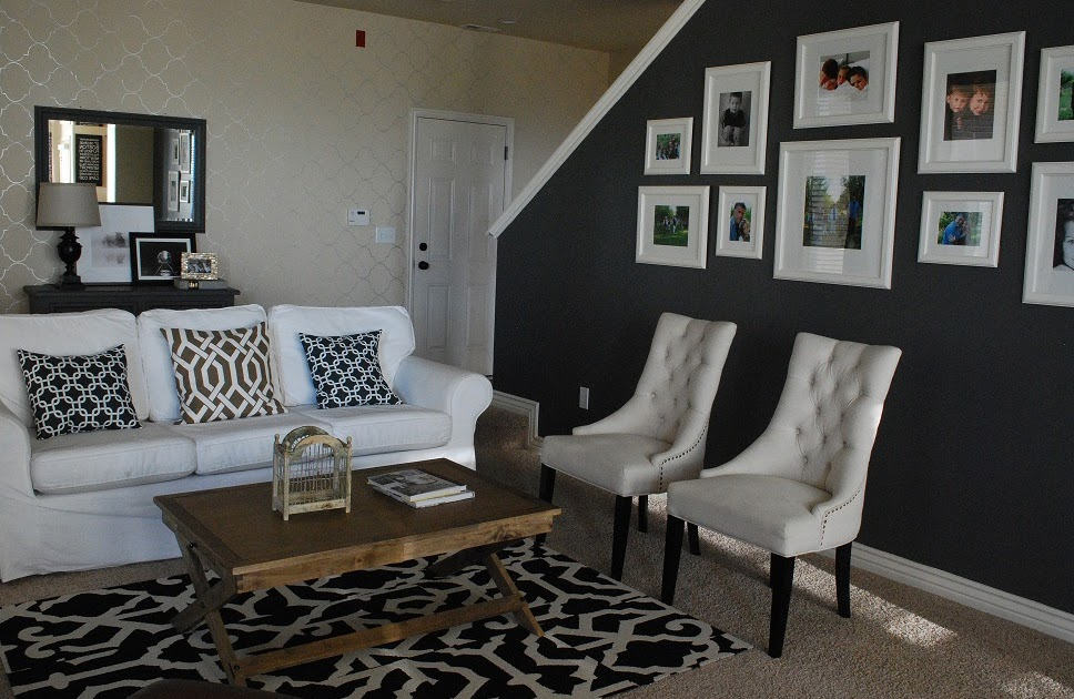 5 Beautiful Accent Wall Ideas To Spruce Up Your Home: Living Room Spruce Up: The Reveal~