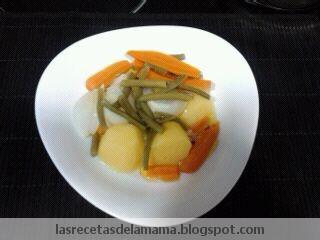 Receta De Hervido De Verduras