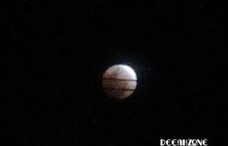 Foto Fase Gerhana Bulan Total (10 Desember 2011)