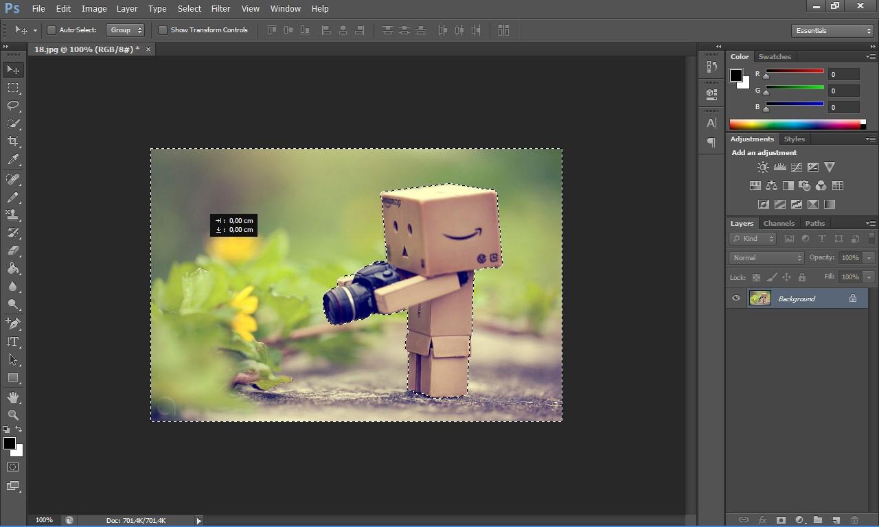 Edit latar belakang foto 2