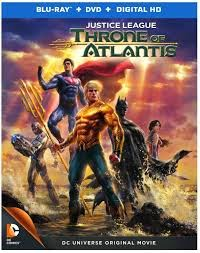 Justice League Throne of Atlantis 2015