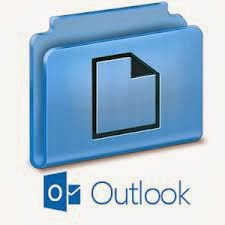 Como crear carpetas en Outlook