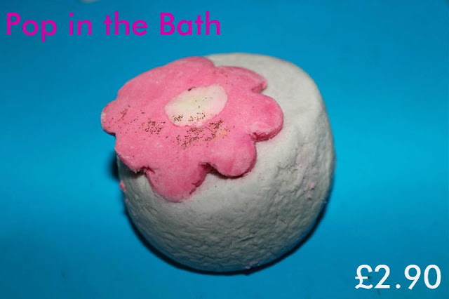 Pop in the bath bubble bar