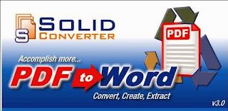 تحميل برنامج سوليد كونفرتر مجانا Download Solid Converter PDF
