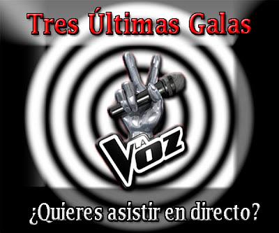 Asistir en directo últimas Galas de LA VOZ