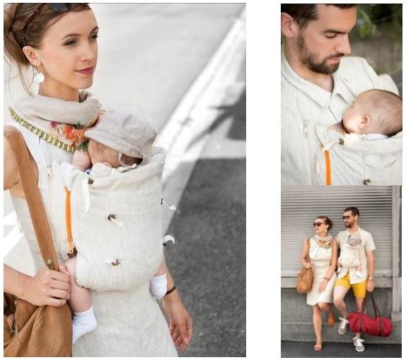 Une Innovation En Alsace Le Vêtement Porte Bébé Peau à Peau - Portant vetement bebe