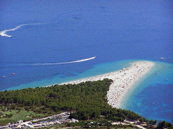Das Goldene Horn - Traumstrand von Kroatien auf der Insel Brač