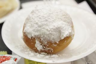 Punchki with Powdered Sugar