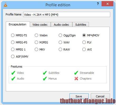 tie-mediumCách đổi đuôi các định dạng video với VLC Media Player