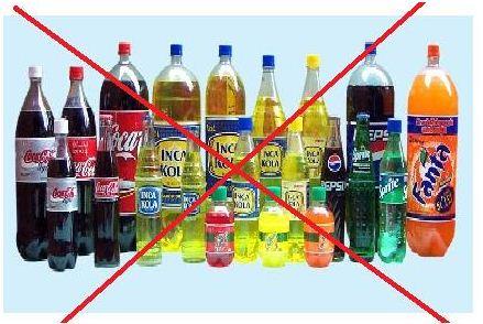 Cuidado con las bebidas gaseosas