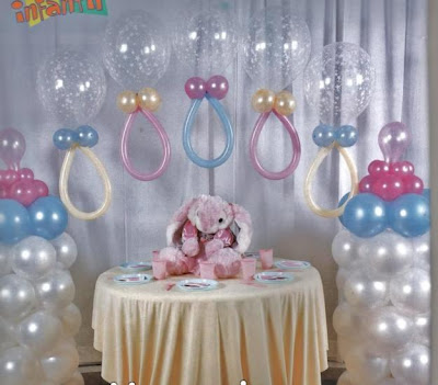 BABY SHOWER CON GLOBOS