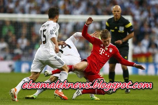 Real Madrid VS Bayer Munech 1-0 Highlights 23.04.2014 HD