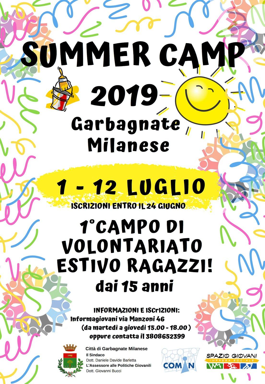 SUMMER CAMP GARBAGNATE M.SE