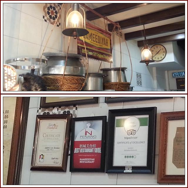 Nasi Kandar Best dan Sedap Pulau Pinang| Restoran Deen Nasi Kandar Pulau Pinang|Restoran Hameediyah Nasi Kandar Pulau Pinang