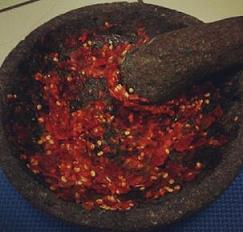Resep Cara Membuat Sambal Terasi Mentah Khas Sunda - Resep Masakan