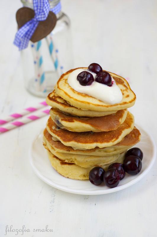Pancakes z wiśniami