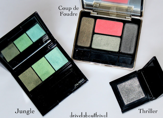 Guerlain Coup de Foudre, Shiseido Jungle, Addiction Thriller
