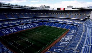 Stadion Santiago Bernabeu - Real Madrid