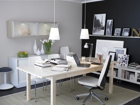 Small Home Office Interior