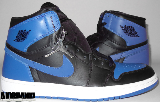2001 Air Jordan 1 Bleu Royal Noir