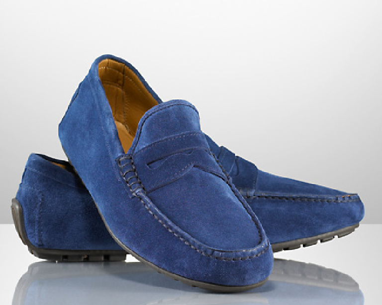 Loafer Shoes Leather Sole And Leaking