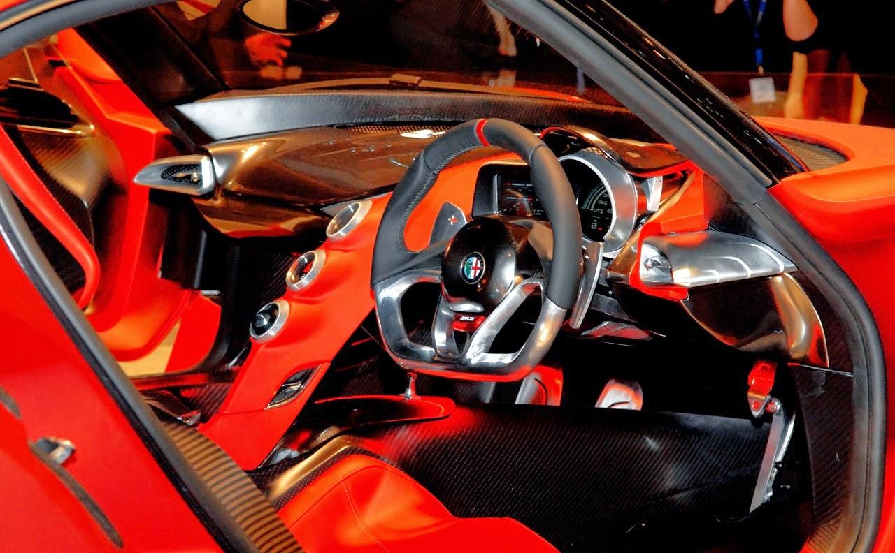 New Alfa Romeo 4c Concept Sport Car Design