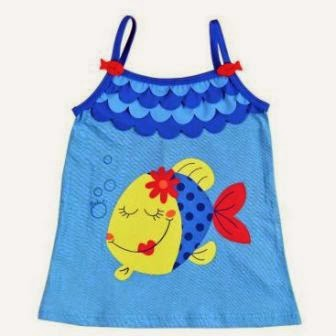 Girls Beach Dress - Bóboli Colors Under The Sea