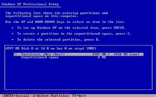 Cara+menginstal+windows+xp7 Langkah langkah Mudah Cara Menginstall Windows XP