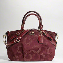 Coach Madison Dotted Op Art Sophia (Style: 15935)