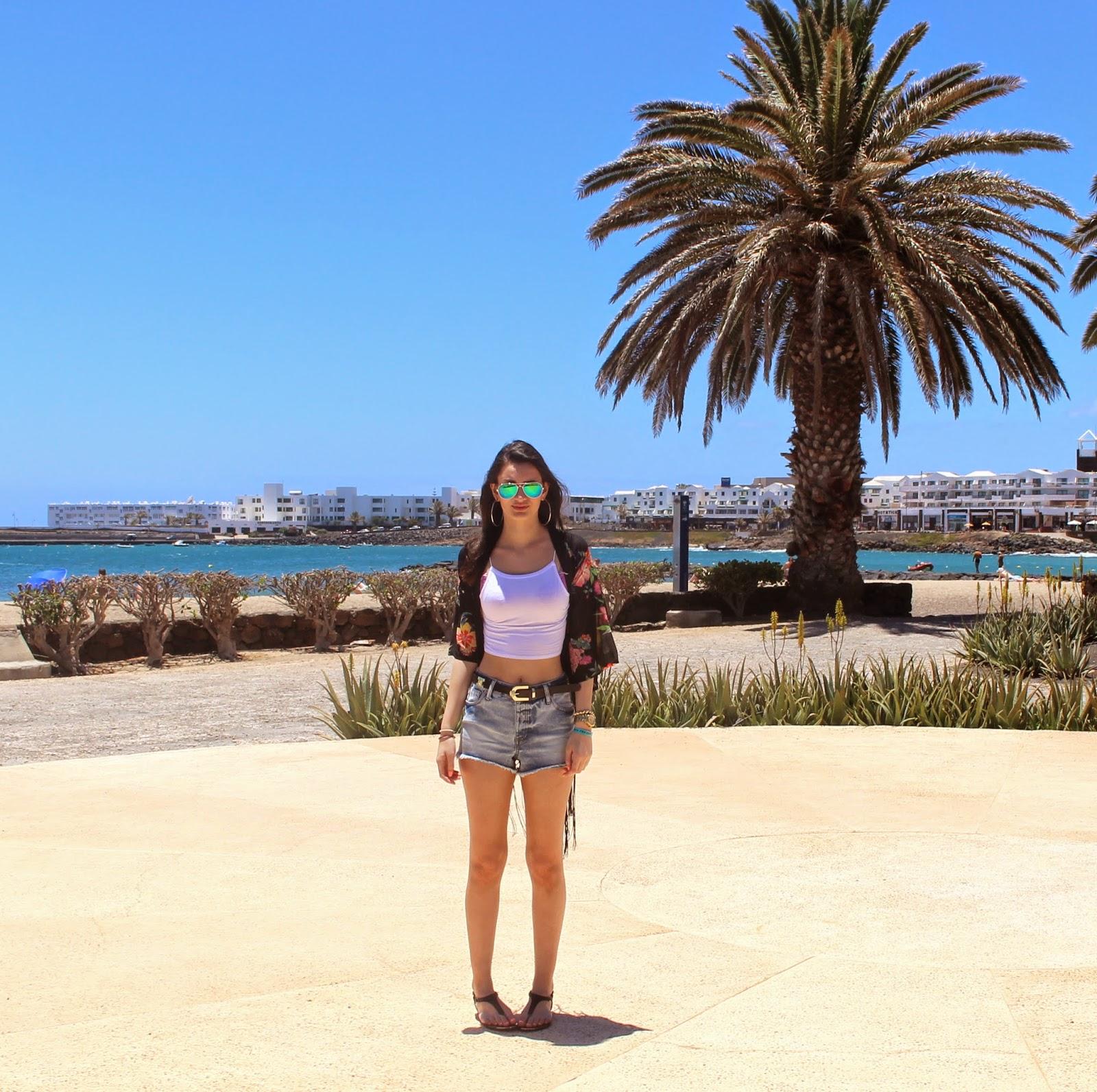 Lanzarote Lookbook: Day 1