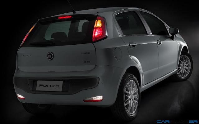 Fiat Punto Essence 1.6 16V 2013 - faróis