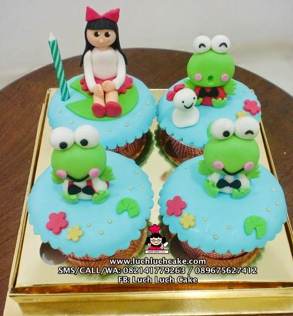 Cupcake Keropi Daerah Surabaya - Sidoarjo