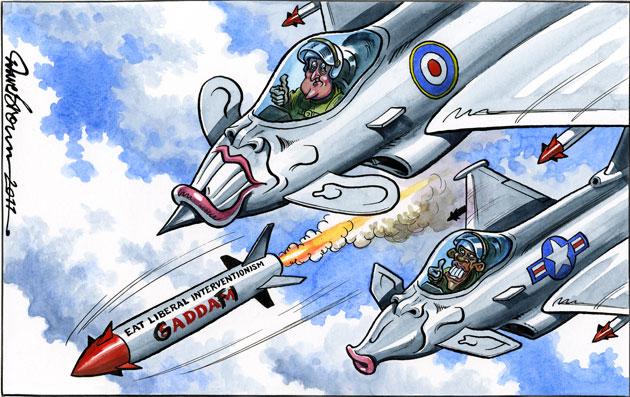 La alianza de los verdaderos terroristas