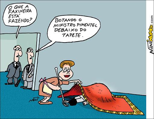 Faxina da Dilma continua