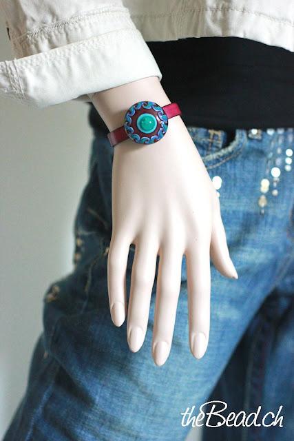 lederarmband für ringtops in vielen verschiedenen farben erhältlich