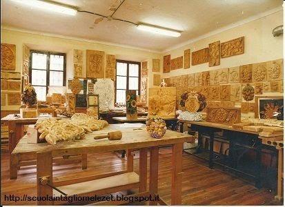 laboratorio della scuola Intaglio Melezet