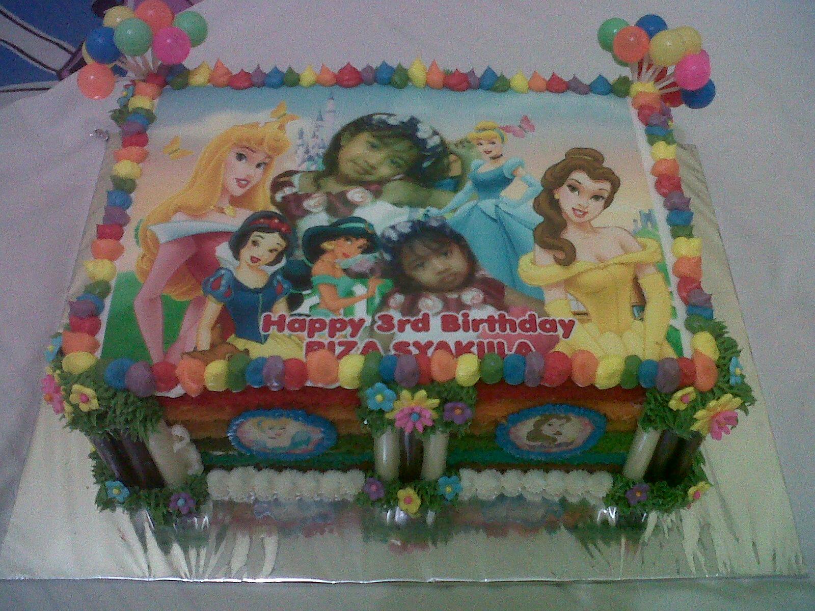 kue ulang tahun anak amelia yang ulang tahun syakila selamat ulang
