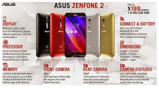 Spesifikasi Asus Zenfone 2 Beserta Harga Lengkap