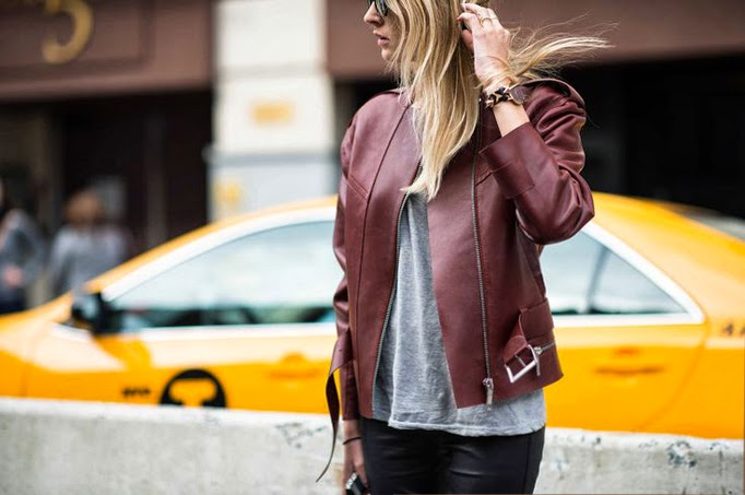 Sportmax leather jacket