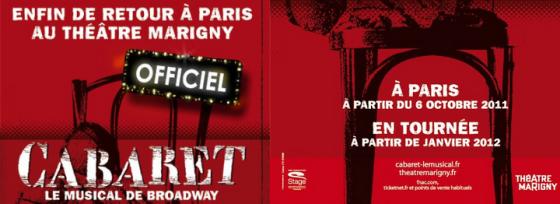 Cabaret, le musical de Broadway à Marigny